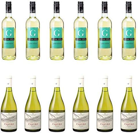 [ 12本 まとめ買い ワイン 飲み比べ ] 2018年 ジ ガルガネガ (アルファ ゼータ) 750ml と 2018年 エスピノ シャルドネ (ビーニャ ウィリアム フェーヴル チリ) 750ml ワインセット