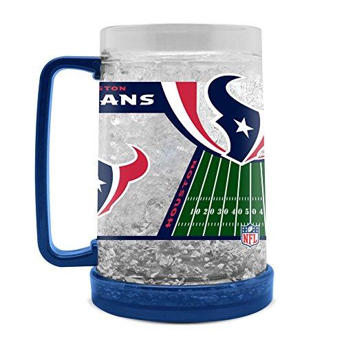 NFL Houston Texans 16oz Crystal Freezer - 16 Texans Houston Crystal Oz