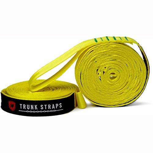 Grand Trunk Trunk Straps Yellow Unisex 10 ' Straps
