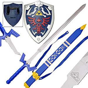 Amazon.com : Zelda Link's Master Sword And Shield Set