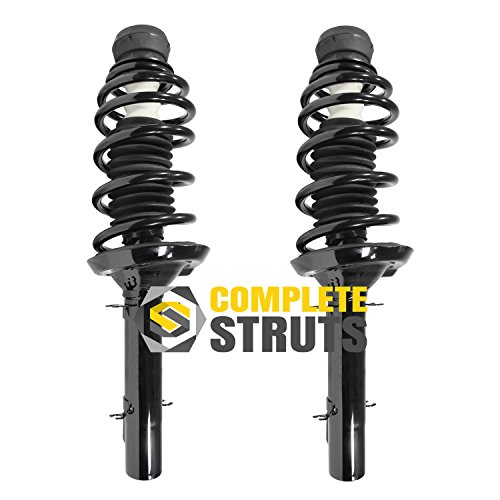 Front Quick Complete Struts & Coil Spring Assemblies Compatible with 1999-2005 Volkswagen Jetta (Pair)
