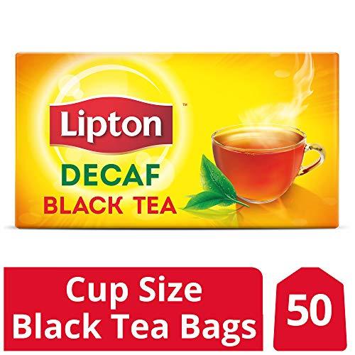 (Lipton Black Tea Bags, Decaffeinated, 50)