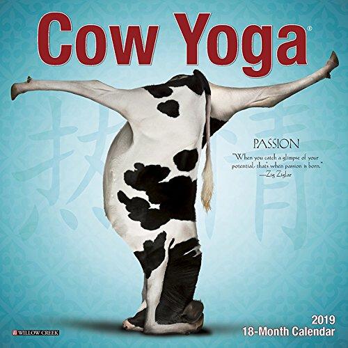 Cow Yoga Mini 2019 Wall -