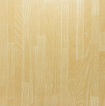 New 25 Vinyl Boden Fliesen Buche Hell Streifen Uni Holz Boden