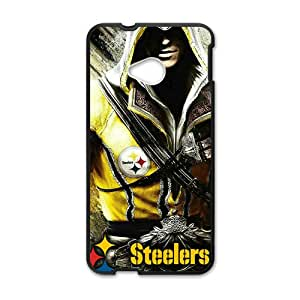 JIANADA Steelers Bestselling Hot Seller High Quality Case Cover Hard Case For HTC M7