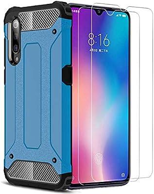 XIFAN Xiaomi Mi 9 SE Funda, protección contra Golpes de TPU + PC ...