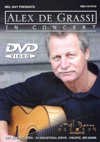 DVD : Alex de Grassi - Alex Degrassi In Concert (DVD)