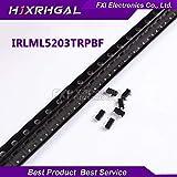 Value-Trade-Inc - 200pcs IRLML5203TRPBF IRLML5203 SOT SMD MOSFET