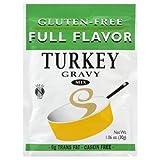 Full Flavor Foods: Gluten Free Turkey Gravy Mix 1.06 Oz (12 Pack)