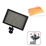 Andoer 160 LED Video Light Lamp Panel 9.6W Dimmable for Canon Nikon Pentax DSLR Camera Video Camcorder