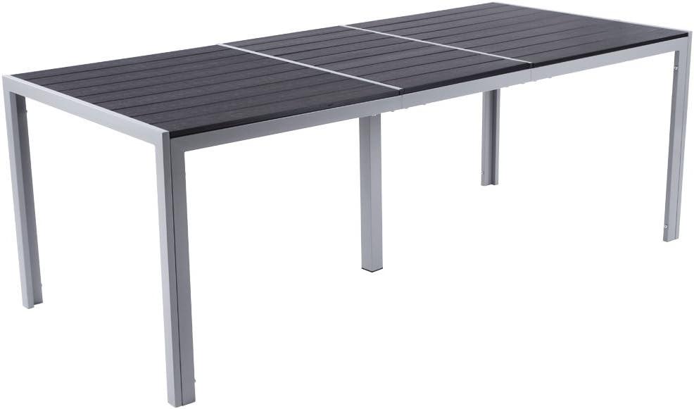 Miadomodo – Conjunto de Muebles para jardín de Aluminio (8 sillas ...