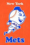 """Trends International New York Mets Retro Logo Wall Posters, 22"""" by 34"""""""