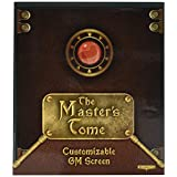 Stratagem GRPG-003 The Master's Tome Customizable DM Screen, Green