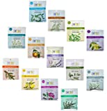 Aura Cacia 2.5 Oz Mineral Bath Packet, All 13 scents Variety Pack