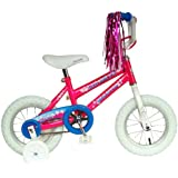Mantis Lil Maya Kid's Bike, 12 inch Wheels, 8 inch Frame, Girl's Bike, Pink