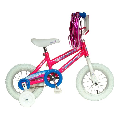 Mantis Lil Maya Kid's Bike, 12 inch Wheels, 8 inch Frame, Girl's Bike, Pink