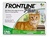 Merial Frontline Plus Flea and Tick Control for Cats and Kittens, 6 Doses