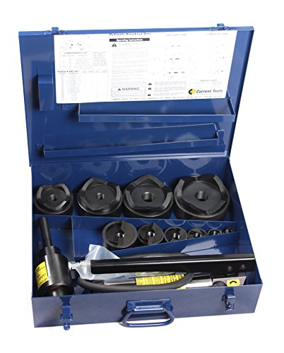3' Pipe Cutter - Current Tool 154PM 1/2-Inch to 4-Inch Piece Maker Hydraulic Knockout Set