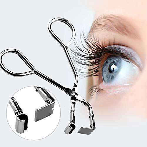 LUCKSTAR Eyelash Curlers - Mini Eyelash Curler Handle Partial Eye Lashes Curling Clip Steel False Eyelashes Makeup Beauty Tool