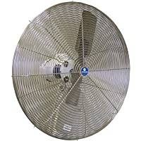 Schaefer Washdown Duty Circulation Fan - 30in., 10,141 CFM, 1/2 HP, 115 Volt, Model# 30CFO-EWDS