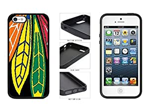 Chicago Blackhawks - TPU Rubber Silicone Phone Case Back Cover (iPhone 5/5s)