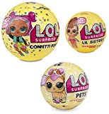 #5: L.O.L. Surprise! Confetti Pop-Series 3-Wave 1 Unwrapping Toy Bundle with Lil Sister Series 3 and Pets Series 3