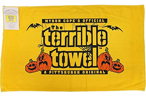 Pittsburgh Steelers Myron Cope's Official Terrible Towel Halloween Edition - New with Tags