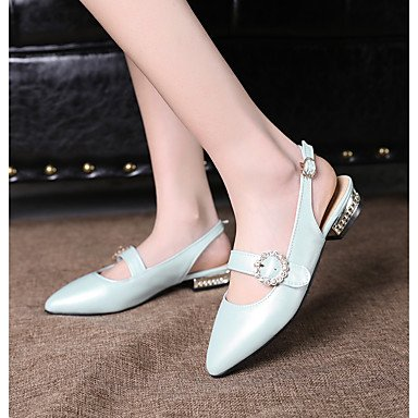 blushing PU Damen Party High Pumps amp; Frühling ggx Mikrofaser Pumps pink Polyurethan Festivität LvYuan BlockabsatzWeiß Künstliche Hochzeit Heels Sommer Blau Kleid C8Hx5aqw