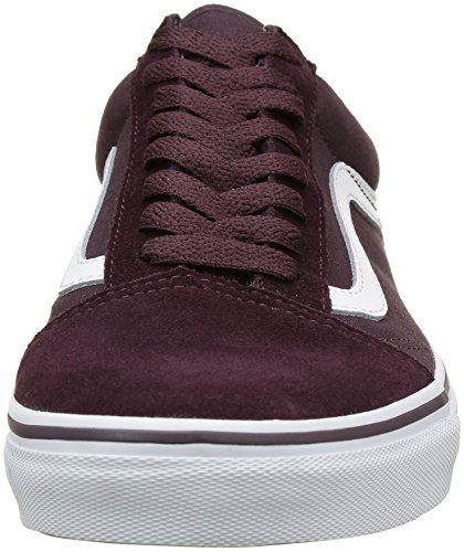 Suede True Old Zapatillas Brown Adultos Skool Unisex White Canvas para Vans Iron Marrón dPf0w6R6qx