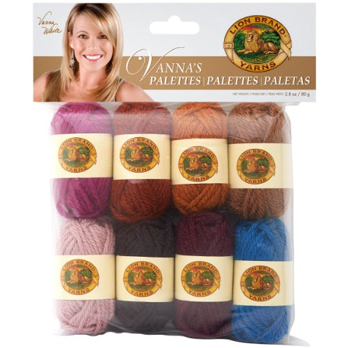 Lion Brand Yarn 865-204 Vanna's Palettes Yarn, Charming