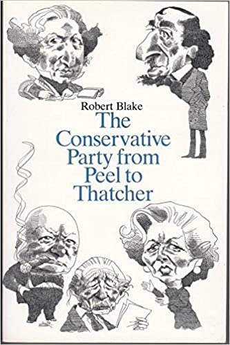 Book The Conservative Party from Peel to Thatcher by Robert Blake (1985-05-13)