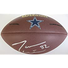 Jason Witten, Dallas Cowboys, Signed, Autographed, NFL Logo Football, a COA with the Proof Photo of Jason Signing Will Be Included with the Football.