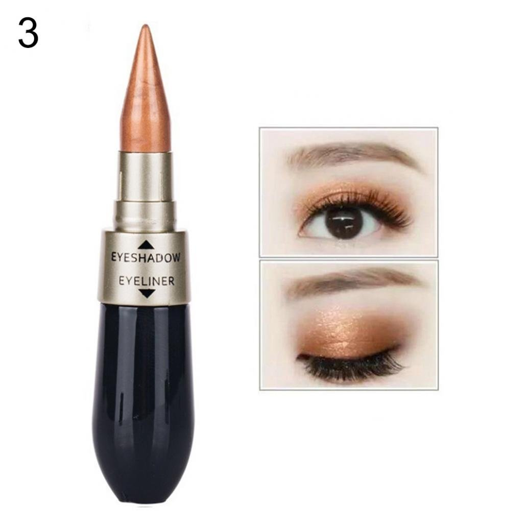Livecity double-end impermeabile ombretto eyeliner liquido combinazione matita cosmetico