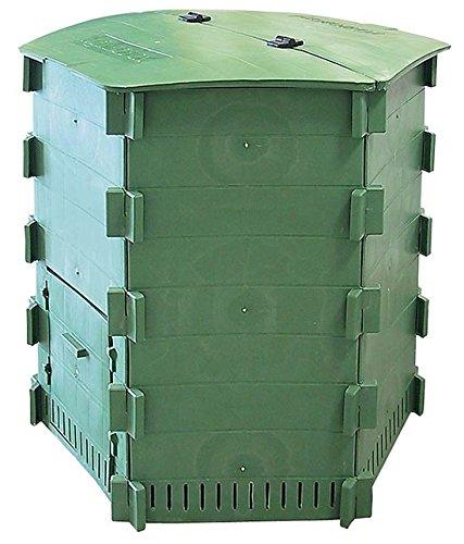 Thermokomposter Garten Komposter 650 Liter Kompostbehälter Kunststoff