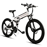 SAMEBIKE 2019 Electric Mountain Bike, Newest 350W E-Bike 26″ Aluminum Electric Bicycle for Adults with Removable 48V 10AH Lithium-Ion Battery 21 Speed Gears- US Shipping