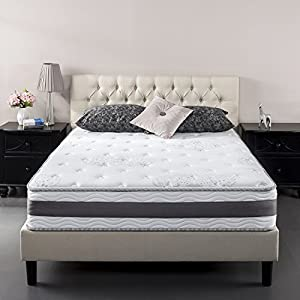 Zinus 14 Inch Gel-Infused Memory Foam Hybrid Mattress