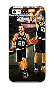 Hot san antonio spurs basketball nba (30) NBA Sports & Colleges colorful iPhone 5c cases 3339083K485636553