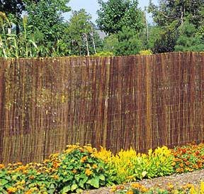 Willow Fence Screen, 6u0027H X ...