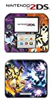 #3: Pokemon Ultra Sun and Moon Necrozma Go Video Game Vinyl Decal Skin Sticker Cover for Nintendo 2DS System Console