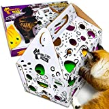 Cat Amazing Epic! - Cat Puzzle Feeder & Treat Hunt Maze - Interactive Cat Toy