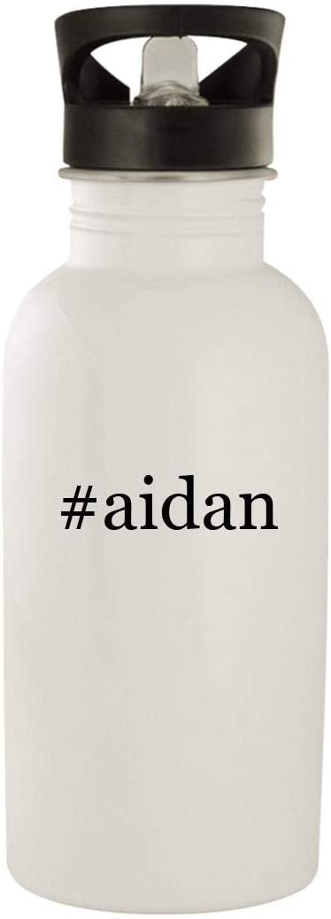 #aidan - Stainless Steel Hashtag 20oz Water Bottle, White 51fHldtFYHL
