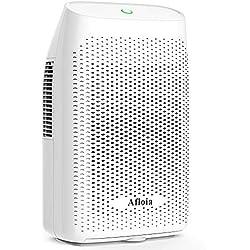 Afloia Dehumidifier for Home Quiet Dehumidifier for Bedroom Small Dehumidifiers for Bathroom Air Dehumidifier for Room (2000ml A)