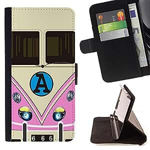 Skull Market - FOR HTC Desire 820 - You can't go back - Caja de la carpeta del tirš®n del cuero de la PU [con ranuras para tarjetas y cierre de solapa magnšŠtica] Pš¢rese cubierta de la caja