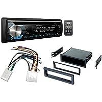 pkg 2003-2008 Toyota Corolla Single Din Car Stereo Radio Install Dash Kit Mount Kit Wiring Harness