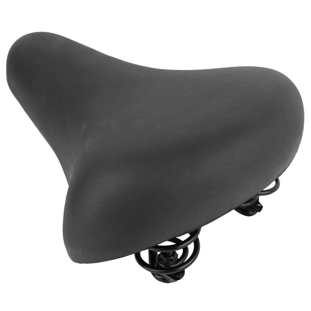 Sill/ín de Bicicleta Extragrande Suave Acolchado para City Bike y Cruiser Sill/ín de Bicicleta Vintage para Hombre y Mujer c/ómodo y con Amortiguador Antiprostata Ducomi