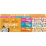 Purina Friskies Lil' Soups Variety Pack Cat Food Complement 9-34g Cups, 1 Pack