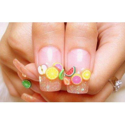 Amazon 200pcs 3d cute designs nail art fimo canes sticks amazon 200pcs 3d cute designs nail art fimo canes sticks stickers rods gel tips manicure decoration blade beauty prinsesfo Choice Image