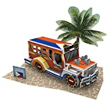 W3147h Cubicfun Cubic FUN 3d Puzzle Model 39pcs Philippine Jeepney Catch a Ride