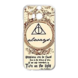 HTC One M8 case , Harry Potter HTC One M8 Cell phone case White-YYTFG-18708
