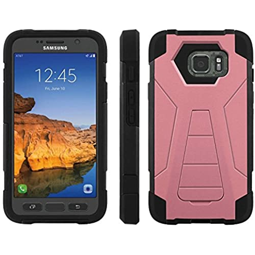 AT&T [Galaxy S7 Active] ShockProof Case [ArmorXtreme] [Black/Black] Hybrid Defender [Kickstand] - [Strawberry Ice] for Samsung Galaxy [S7 Active] Sales
